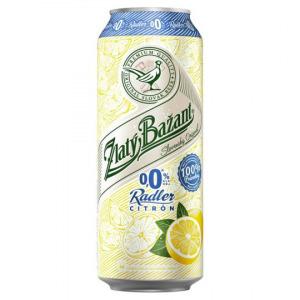 Zlatý Bažant Radler citrón 0,5l
